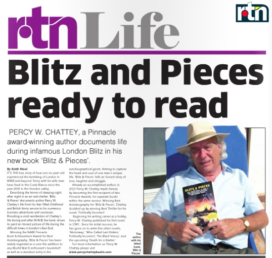 Wartime Biography: Blitz and Pieces